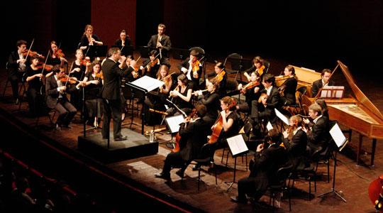 L'orchestre baroque de l'OFJ recrute ses musiciens