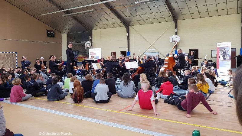 Les actions pédagogiques de sensibilisation et de transmission de l'Orchestre de Picardie